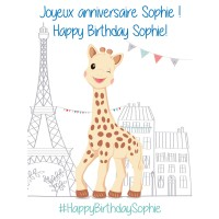 Happy Birthday Sophie!
