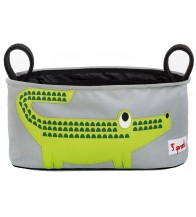 3 Sprouts Stroller Organiser - Crocodile