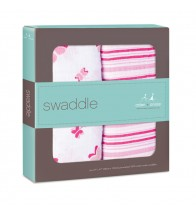 Aden + Anais Classic Swaddles - Princess Posie (2-pack)