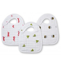 Aden + Anais Classic Snap Bibs - Mod About Baby (3-pack)