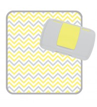 B.box The Essential Baby Box (Nappy Wallet) - Mellow Lellow