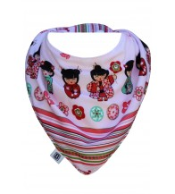 Bibska Dribble Bib - Geshia Girl