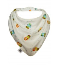 Bibska Dribble Bib - Small Circus
