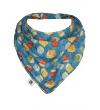 Bibska Dribble Bib - Vintage ABC