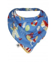 Bibska Dribble Bib - Circus Fun