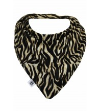 Bibska Dribble Bib - Zebra Baby New
