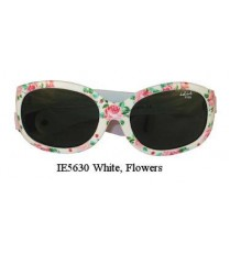 Idol Eyes IE5630 Baby / Toddler Sunglasses - White Flower