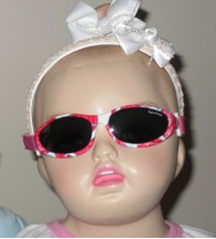 Idol Eyes Baby Wrapz Sunglasses Limited Edition - Red