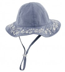 Millymook Girls Bucket Hat - Capri Blue