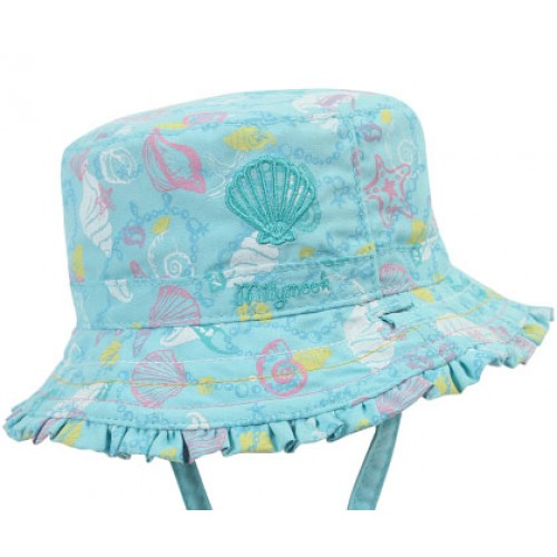 Millymook Baby Girls Bucket Hat - Oceania Blue 441385c8c569