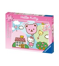 Ravensburger Hello Kitty Takes Off Puzzle 2x20pc
