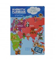 Tiger Tribe Magnetic Play Book - Travel the World