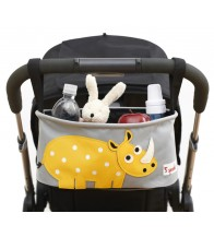 3 Sprouts Stroller Organiser - Rhino