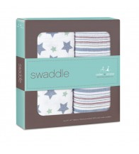 Aden + Anais Classic Swaddles - Prince Charming (2-pack)
