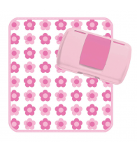 B.box The Essential Baby Box (Nappy Wallet) - Flower Power
