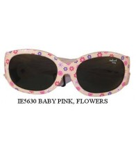 Idol Eyes IE5630 Baby / Toddler Sunglasses - Light Pink Flower