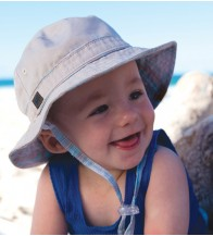 Dozer Baby Boys Bucket Hat - Austen Check