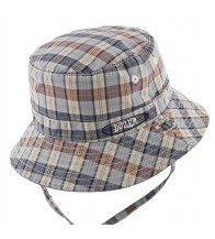 Dozer Baby Boys Bucket Hat - Duke Blue Check